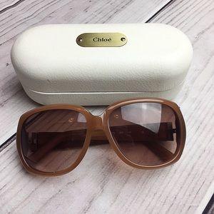 e8fb34a7c8c Chloe Oversized Sunglasses
